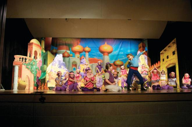 Aladdin, as performed by Arts Alive! last month in Barrington