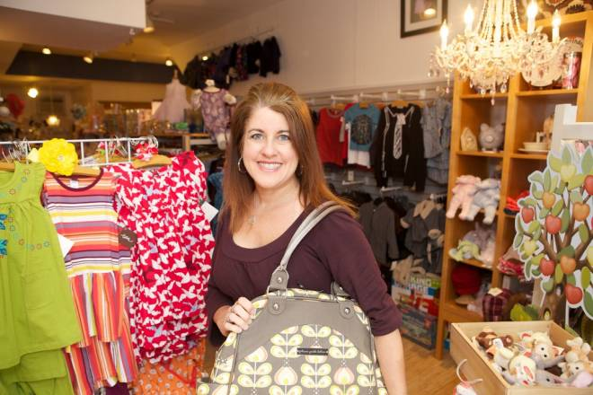 Denise Silva-Navoian designs her own children's clothing