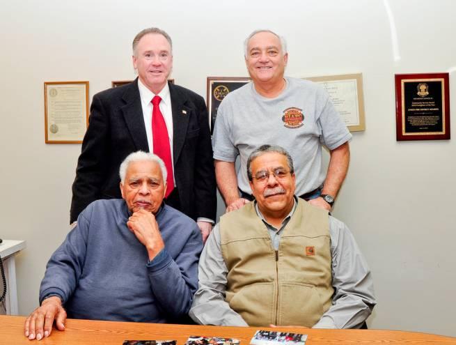 Clockwise from Back Left: George Farrell, Steve Hay, Dallas Hazard and Reggie Hazard