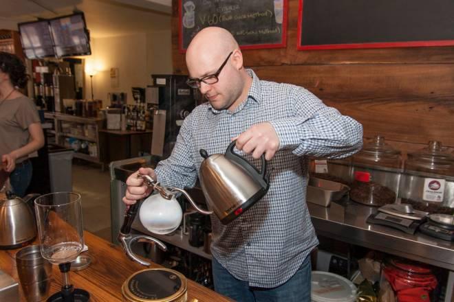 Proprietor CJ Barone serves up complex flavors at Empire Tea & Coffee