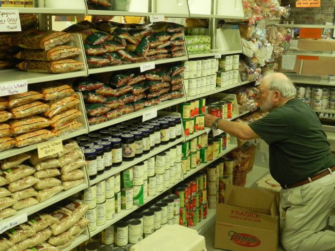 The East Bay Food Pantry serves over 5000 residents