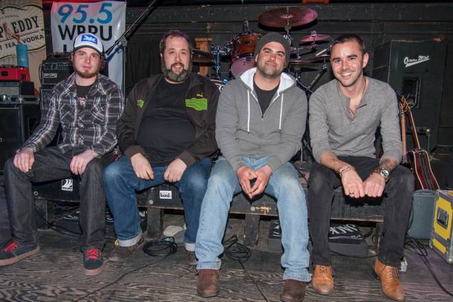 Northern Lands: Joshua Wallace, Aaron Jaehnig, Peter Hayden and Joshua Cournoyer