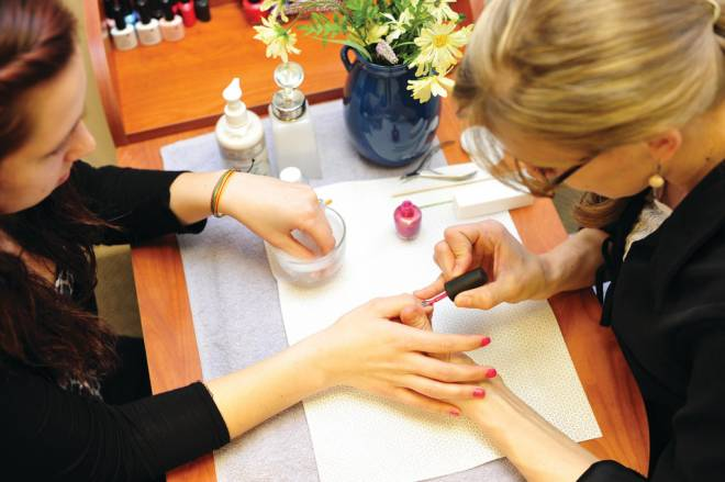 Shari Magill is painting nails and taking names