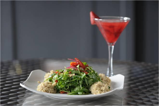 Quinoa & Baby Arugula Salad