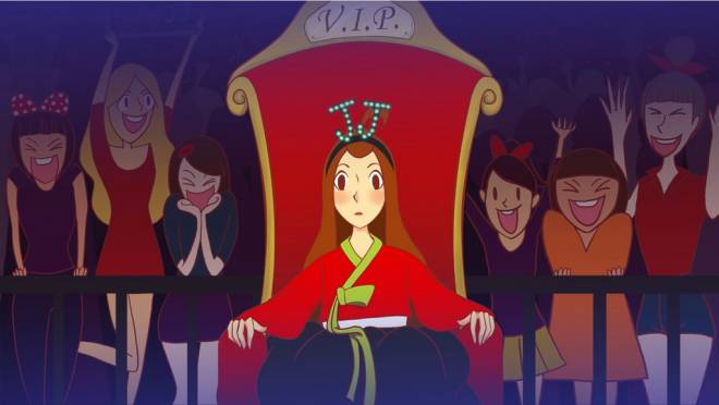 Fan Club, an animated short from Thailand, will screen at the Womanimation! film festival on June 22