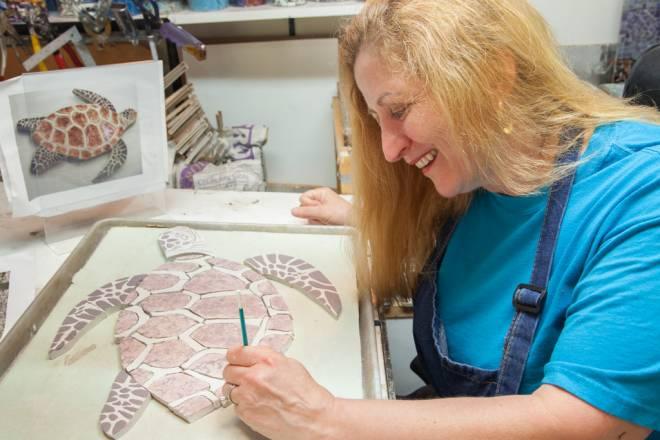 Lauren Renée Quinn's studies in Italy fueled her mosaic making