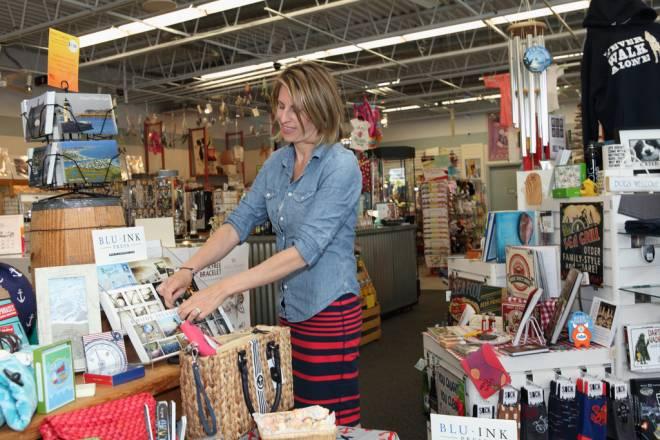 Rhode Island-centirc gift items abound at Zero Wampum