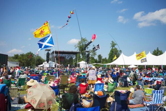 The Rhythm and Roots Festival at Ninigret Park in Charlestown