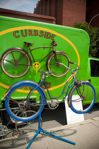 Curbside recycles breathes new life into old bikes