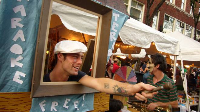 AS220's Foo Fest brings the best kind of weirdness to the streets of downtown Providence this weekend