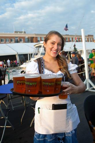 Oktoberfest returns to the Newport Yachting Center this weekend