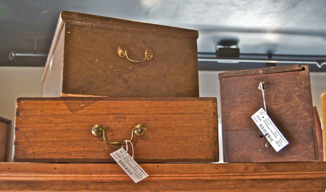Early (circa 1840s) chests