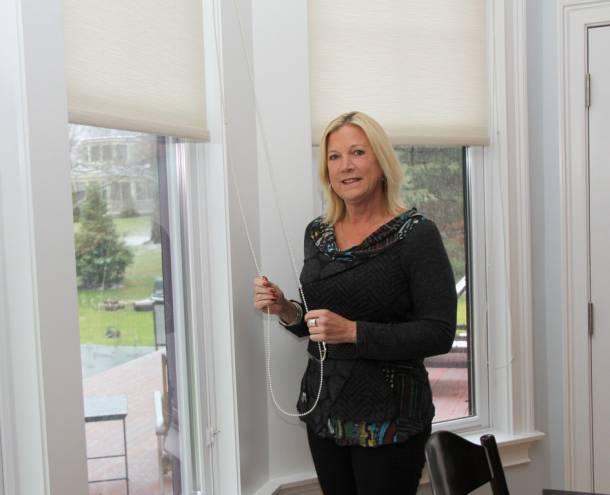 Frana Louttit is an award-winning window treatment specialist