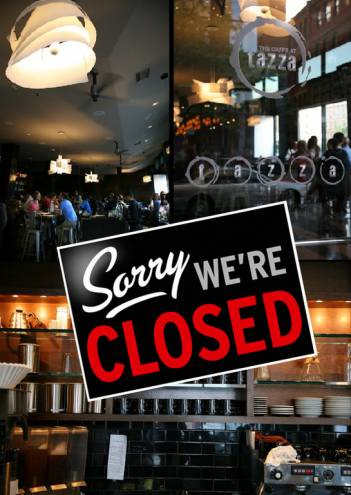 Tazza, the popular Downcity hangout, closed for good on January 1, 2014