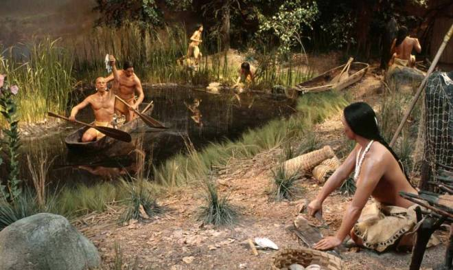 A scene from the half-acre Pequot Village recreation