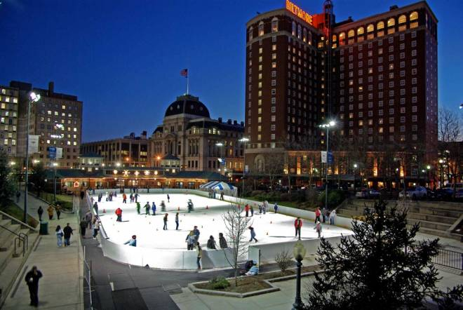 The Providence Rink at the Bank of America City Center