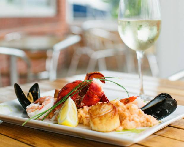 A true taste of the Bay at Bluewater Bar & Grill in Barrington