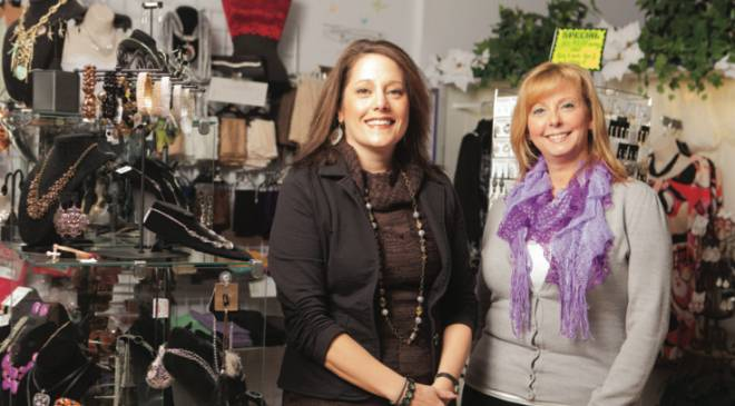 Tina Pagliusi and Lorie Olsen have been friends since before they opened TLC Boutique