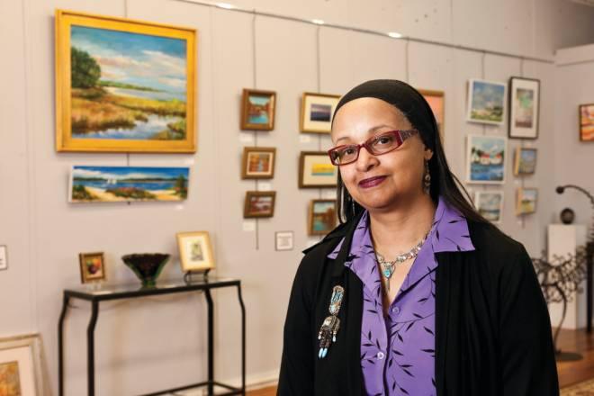 Visual artist Anita Trezvant owns Bristol's Hope Gallery