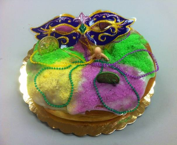 Get your Mardi Gras king cake at LaSalle Bakery