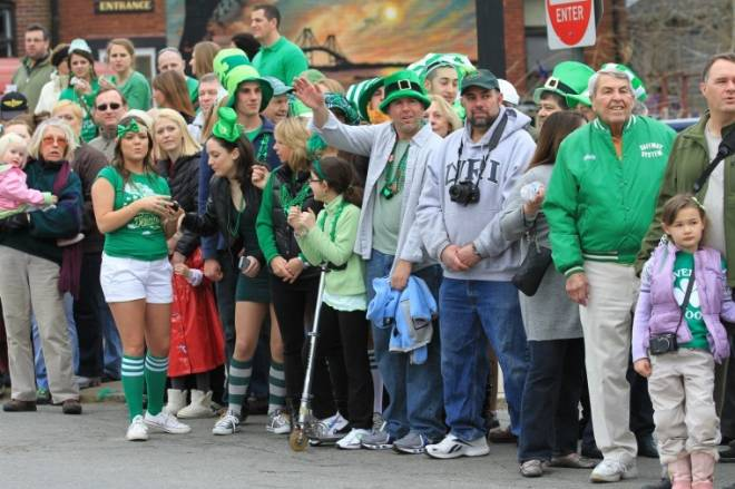 Newport's St. Patrick's Day Parade is on March 15 at 11am