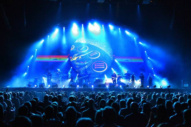 Brit Floyd performing at The Liverpool Echo Arena on November 9, 2013