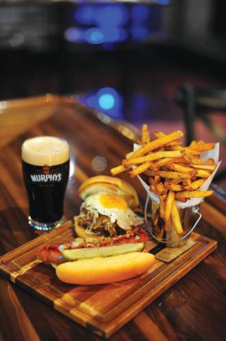 GPub is the newest downtown addition to the food scene and features many from-scratch dishes