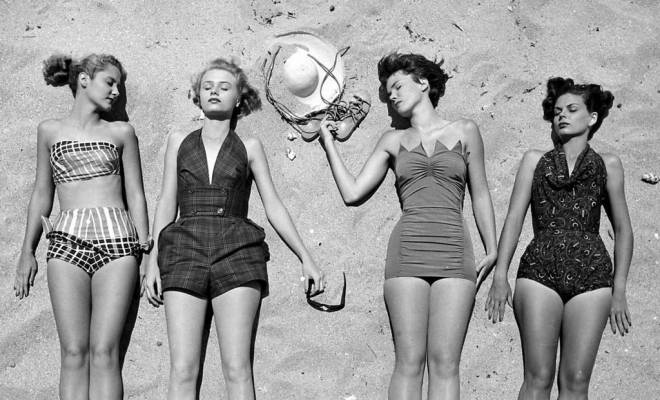 Vintage bathing beauties... check out STYLEWEEK SWIM on Sunday for the hottest swimwear fashion!