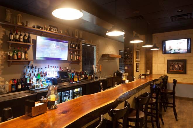 The new bar at Vetrano's