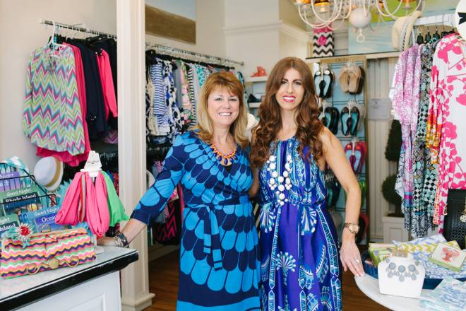 Coppola's of Watch Hill co-owners Jean Murano and Kate Lombard