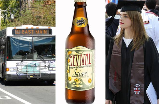 "Candidates chat about transportation, beer, university ""brain drain"" and other important issues"