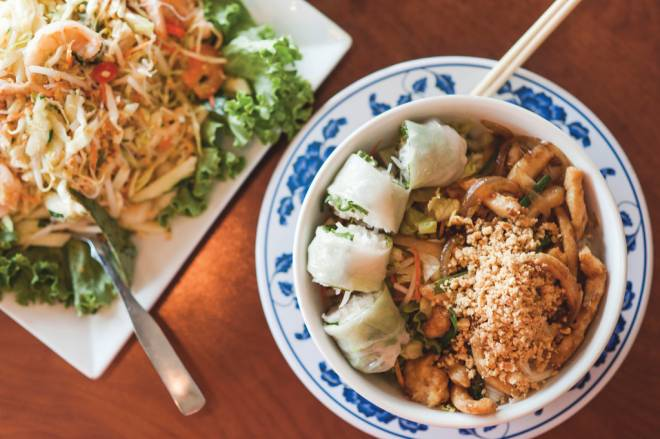 Asian food at Four Seasons on the Cranston/Providence line