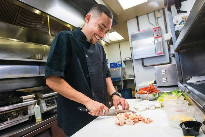 Chef Devin Ramos of avenue N