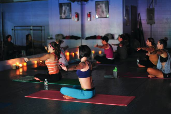 BUTI Yoga is a high-intensity workout