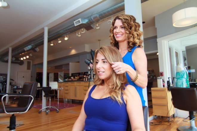 Courtney Libby of New Leaf Salon