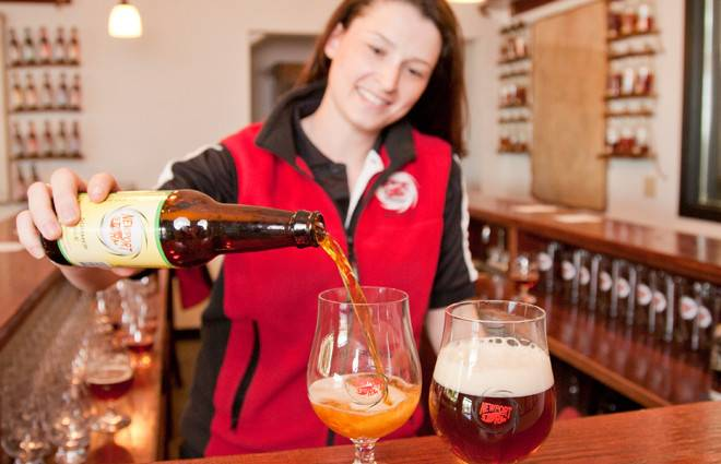 Sample a wide assortment of specialty brews and rum at Newport Storm