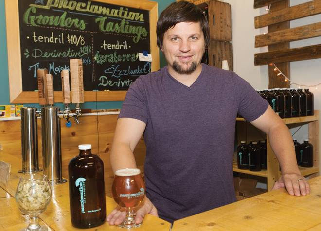 Dave Whitman of Proclamation Brewery