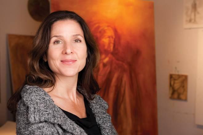 Artist Julie Gearan