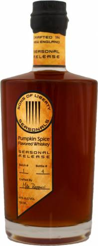 Pumpkin Spice Flavored Whiskey from SOL
