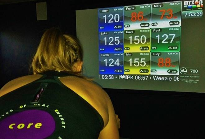 Core Fitness has a new state-of-the-art fitness system