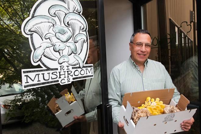 Meet the fun guys at the RI Mushroom Company