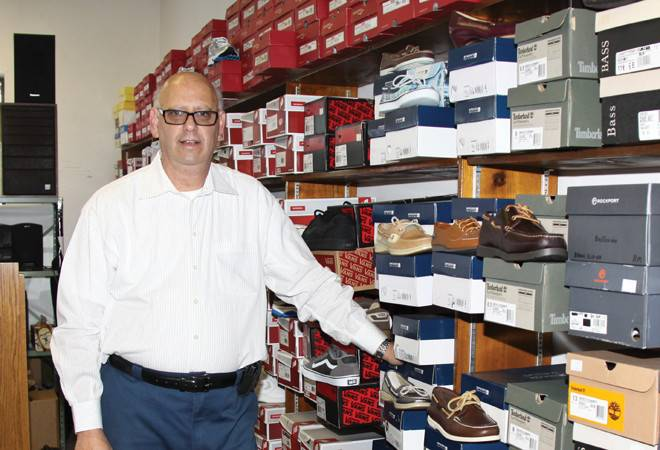 Stuart Solup's family has run Irving Shoes for 119 years