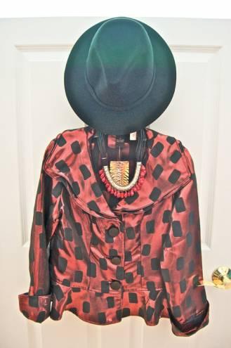 Festive fall jacket