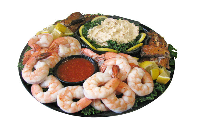 """Bring a Tony's Seafood platter to your holiday party and Santa is sure to put you on the """"nice"""" list"""