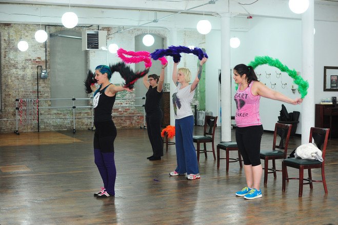 Shimmy and shake all in the name of fitness at the RI Burlesque Academy