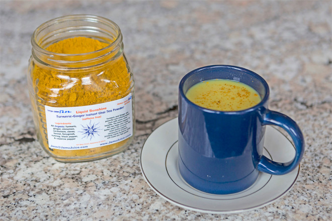 Tumeric and ginger give Jamu Juice its nutritional foundation