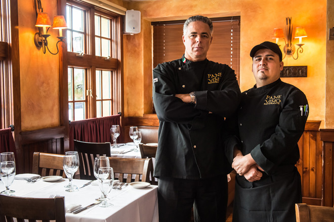 Executive Chef Joseph DeQuattro and Chef di Cuisine George Orellana
