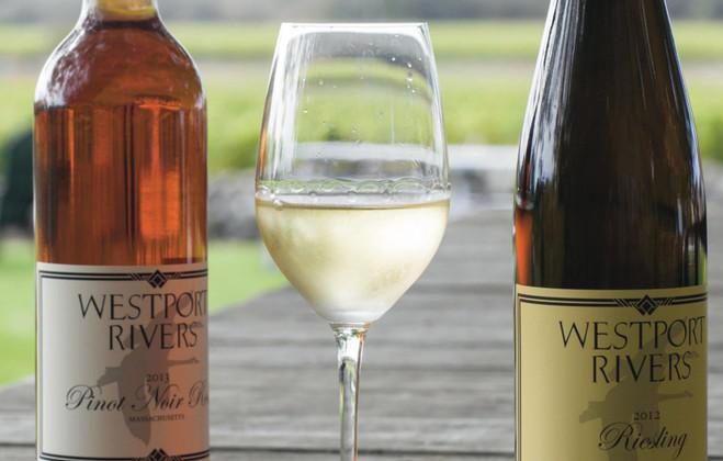 Sip on some wine this Valentine's Day at Westport Rivers Vineyards