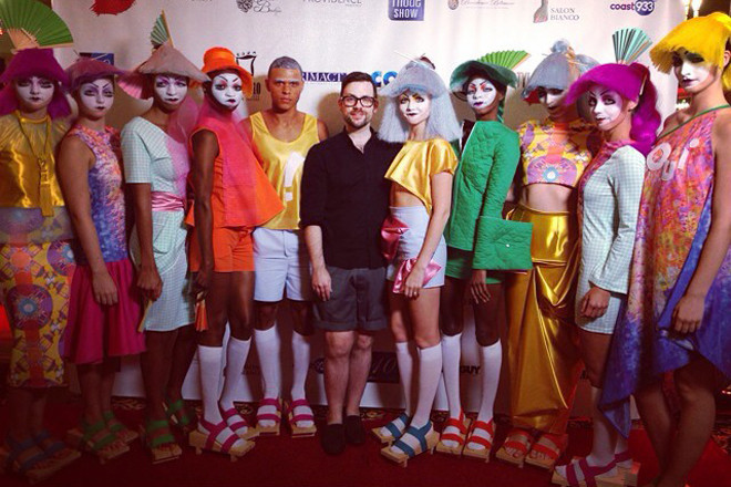 Jonathan Joseph Peters' colorful past collection - don't miss StyleWeek Northeast, kicking off Valentine's Day weekend