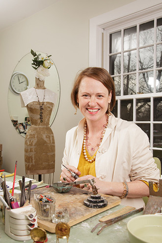 Jewelry designer Tiffany Peay offers a class in Intro to Wire Working